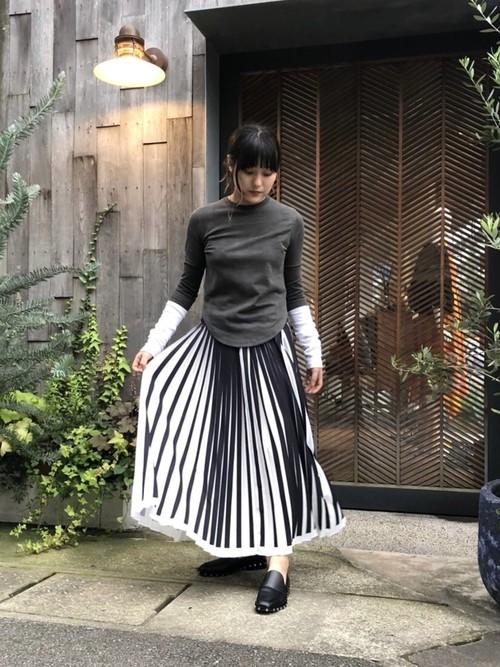 【20SS】3.1Phillip Lim スリーワン・フィリップリム / Pleated Skirt