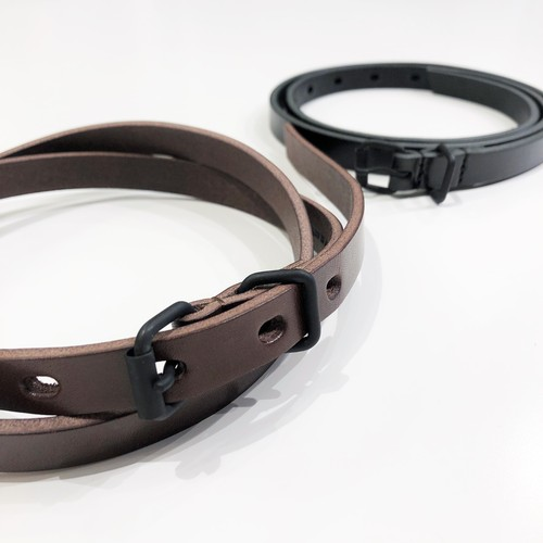 FIRMUM 【フィルマム】 COW LEATHER NARROW BELT
