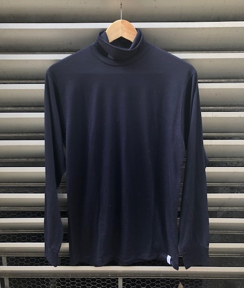 "GOOD&WOOLEN  ""L/S(長袖) TURTLE NECK TEE(WOOL 100%)"