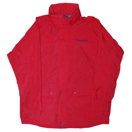 """Timberland"" Vintage Mountain Jacket Used Red"