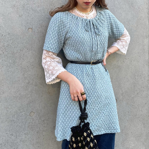 (LOOK) design knit tunic