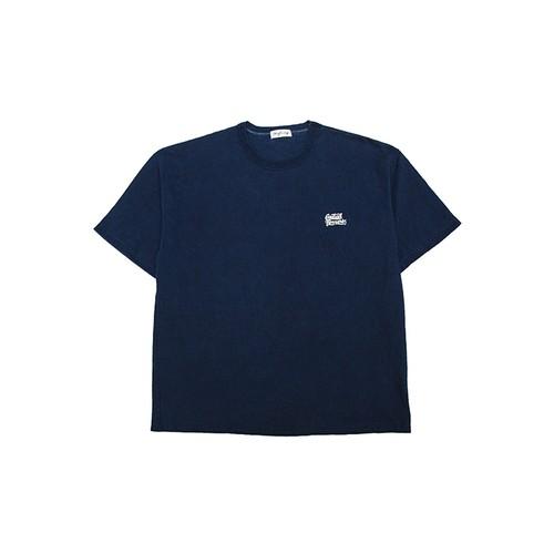 インディゴ染めTシャツ
