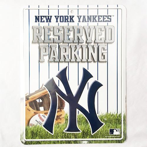 New York Yankees NY ニューヨーク ヤンキース パーキングプレート パーキングボード MLB メジャーリーグ RICO 2842