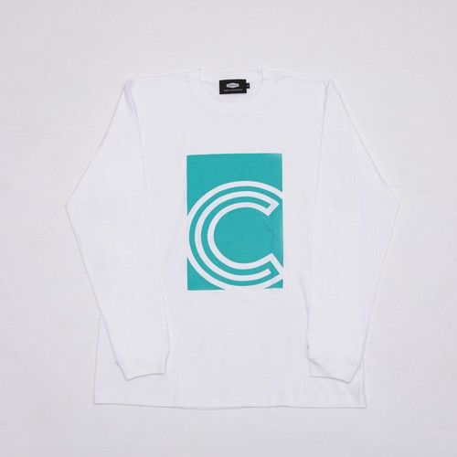 C BOX L/S T-SHIRTS GREEN