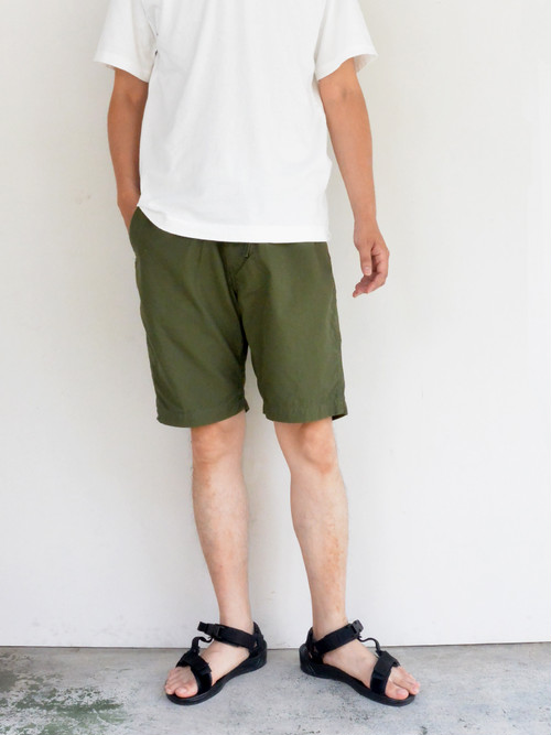 orSlow(オアスロウ) NEW YORKER SHORTS ARMY GREEN