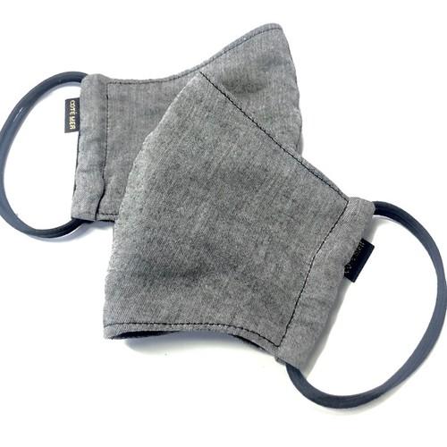 吸水速乾マスク2枚セット COOLMAX×オーガニックコットン日本製オーガニックコットンマスク2枚セット