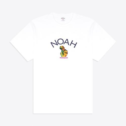 Noah x New Order Core Logo Tee(White)