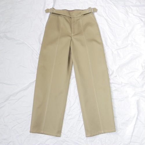 Cross pants - Beige
