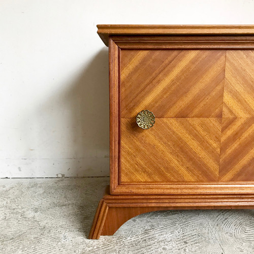 Teakwood Vintage Bedside Chest 1960's オランダ
