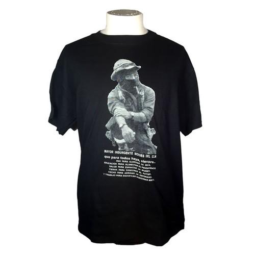 MOISES DEL EZLN (T-SHIRT) モイセス少佐フォトTシャツ
