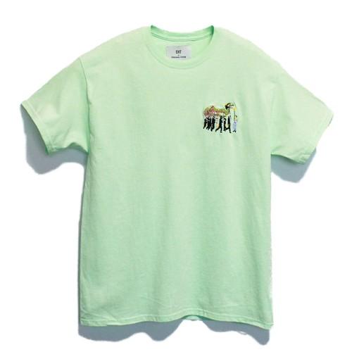 KUNCHI  TEE - mint green <JAODORI>