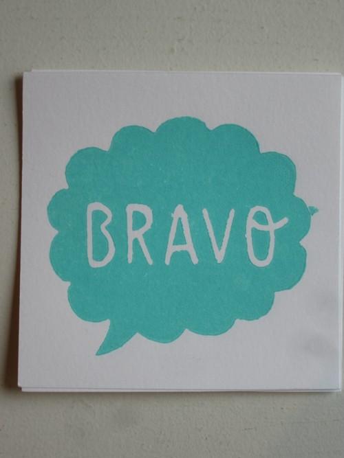 marine card BRAVO
