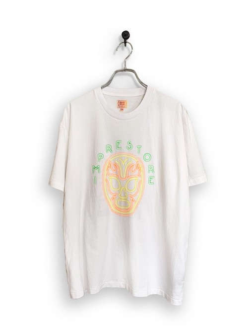 Original Short Sleeve-T / Lucha neon /  white