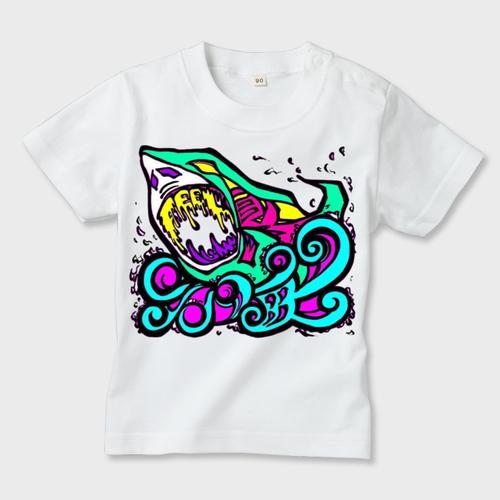 kidsTee/Feel喰海Ism/MINORITY BRAND/Pastel×WHT