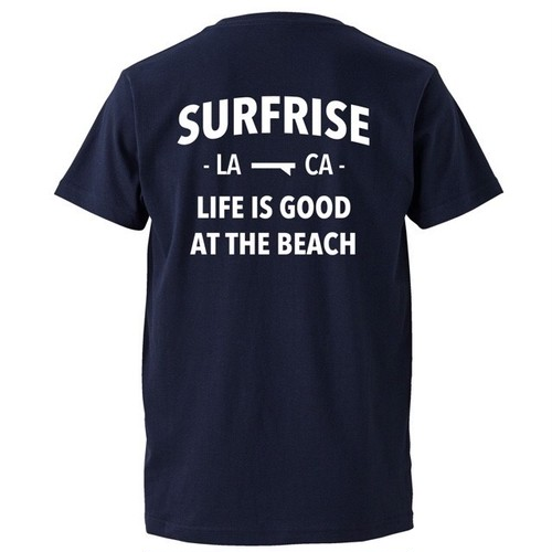 LIFE IS GOOD Tee - Navy