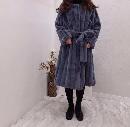 モフィ―ファーコート ファーコート 韓国ファッション