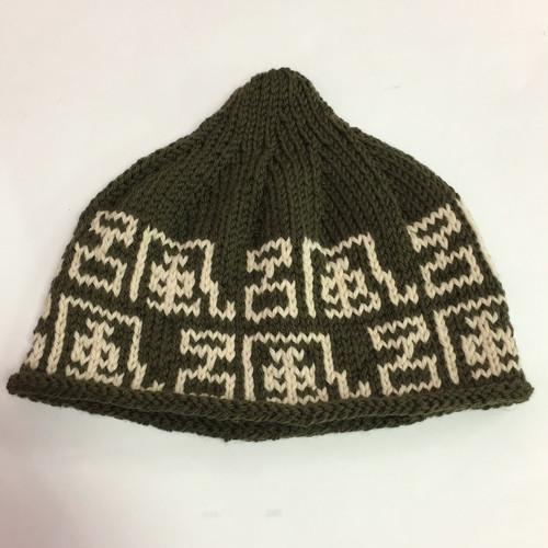 ゑでぃの手編みニット帽 風呂