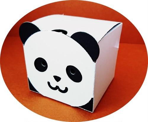 【2個入り】きゃらーずBOX(パンダ)