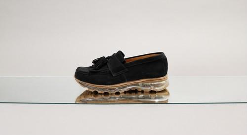 Tassel Loafer Air Sole 【BLACK】