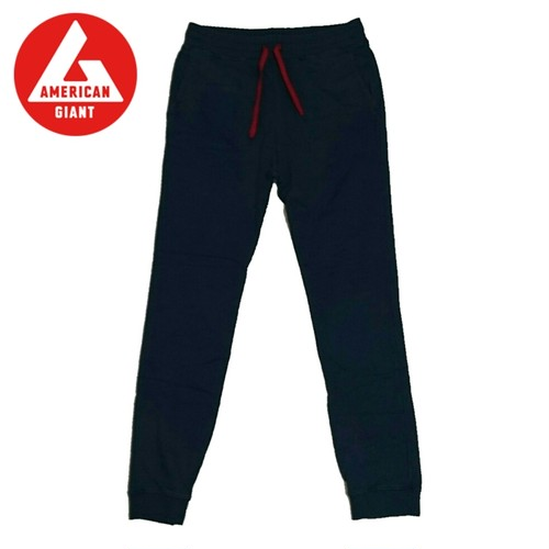 AMERICAN GIANT スウェットTRACK PANT Denim/Red