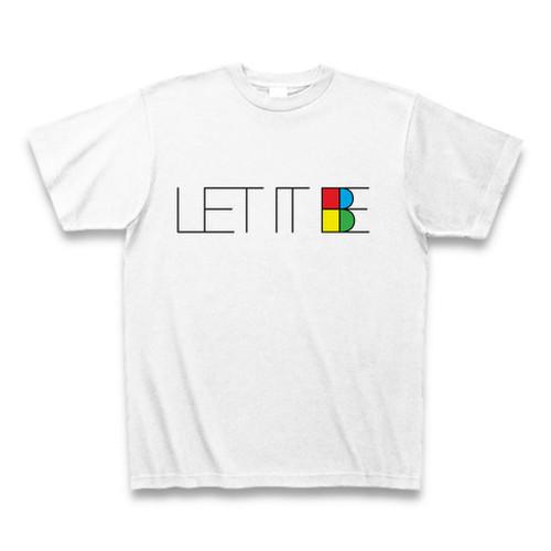 ザ・ビートルズ「LET IT BE」(レット・イット・ビー)タイポグラフィTシャツB