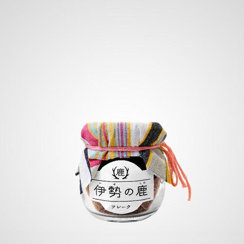 伊勢の鹿|限定新春フレーク瓶 40g