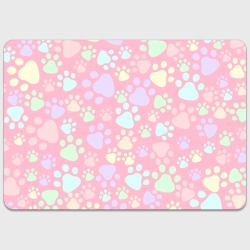 MacBookステッカー 【肉球柄ピンク】