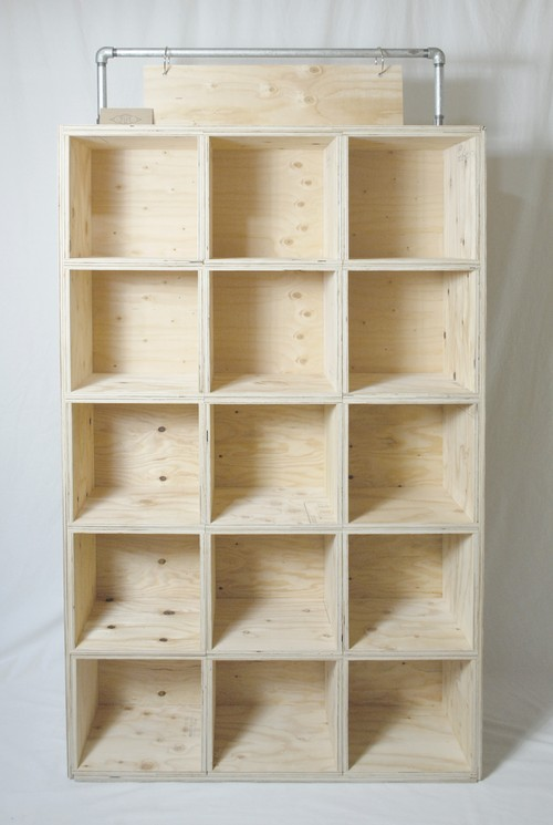 wood box shelf