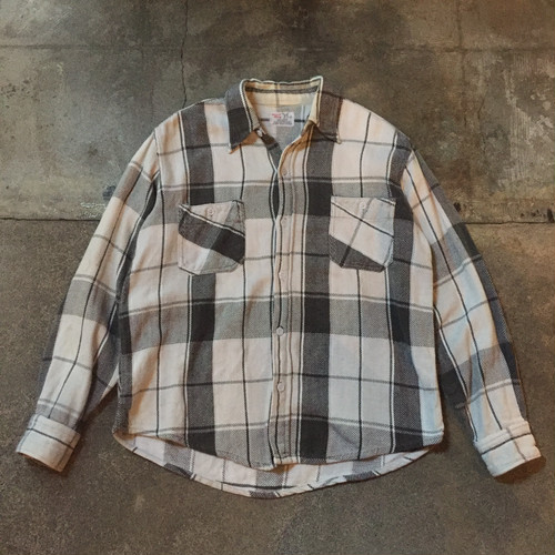 70s Heavy Flannel Shirt /USA