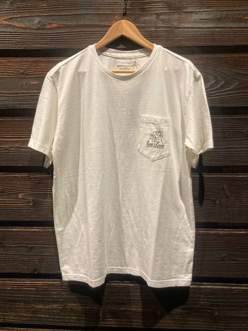 Turn Me On  S/S TEE『TURN&EASY』 collaboration with redrope(WHITE1) Lサイズ  121-445