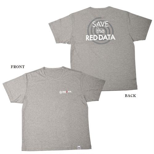 RED DATA Tシャツ Men's(グレー)