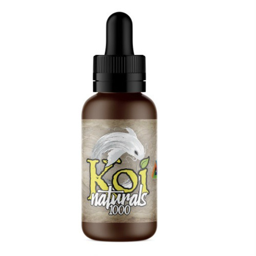 『舌下で摂取』Koi Naturals CBDオイル Lemon Lime味 30ml / 1000mgCBD 【Koi CBD】