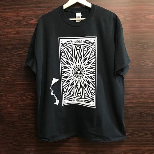 【6SENSE】 Reprint / T-Shirts -Triangle-(BLACK , WHITE)