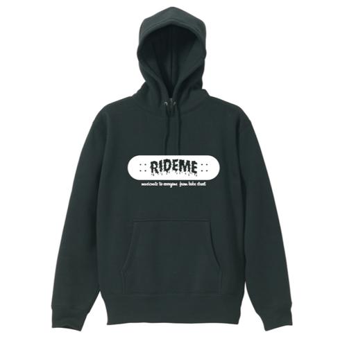 RideMe(ライドミー) | BOARD LOGO Hoodie(Black)