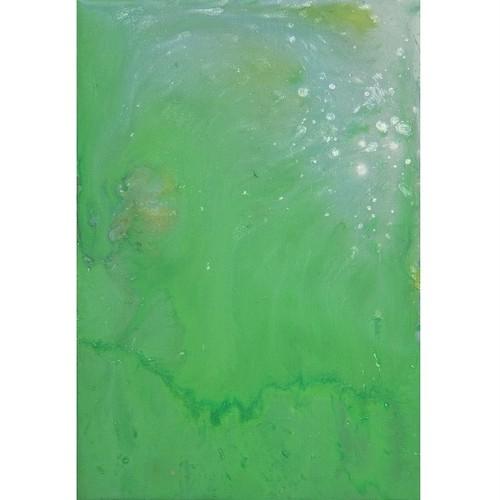 「無題」 キャンバスにアクリル * 現代アート 絵画 抽象画 内野隆文 takafumiuchino