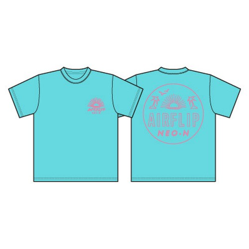 """NEO-N Tour"" T-SHIRTS ミントグリーン"