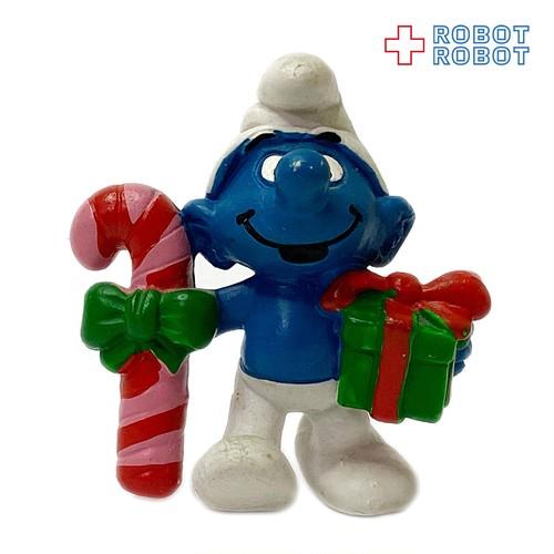 スマーフ クリスマス キャンディケーン & ギフト #20207 PVC フィギュア