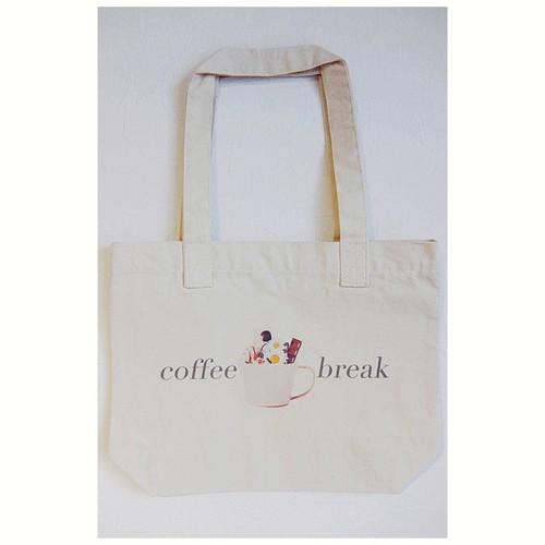 Coffee break/トートバッグ