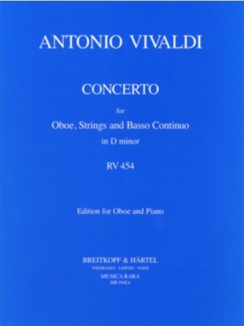 ヴィヴァルディ:オーボエ協奏曲 ニ短調 RV454 / オーボエ・ピアノ
