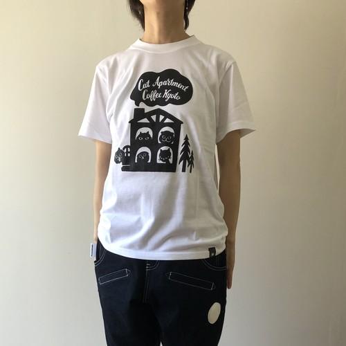 アパートメントTシャツ(ホワイト)