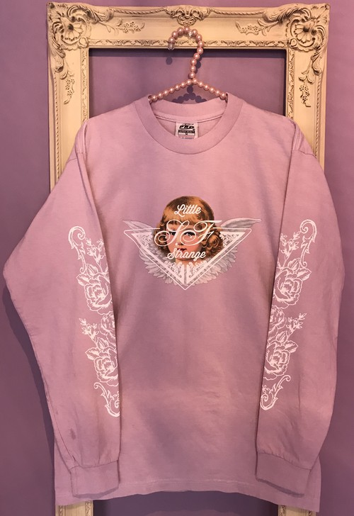Angel long sleeve Tshirt PINK