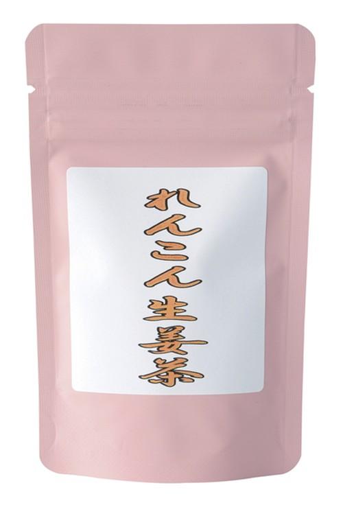 蓮根生姜茶