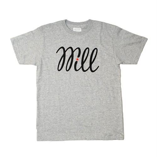 WILL BASIC LOGO TEE (HEATHER GREY)