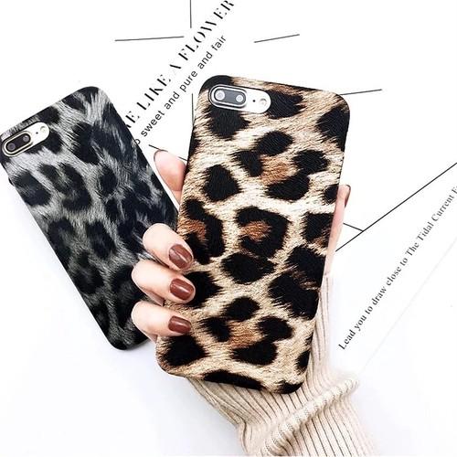 ヒョウ柄 豹柄 iPhone case 【2色】