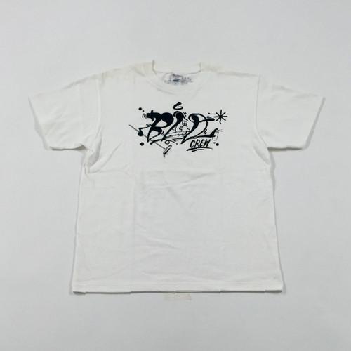 BCD LOGO T-Shirt - T White ×  Black