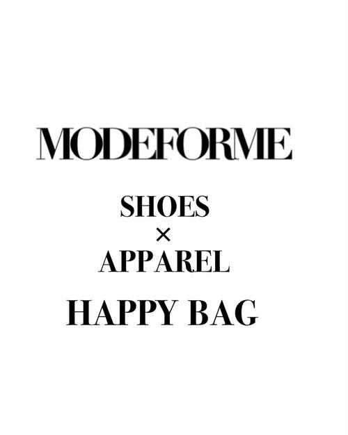 SHOES × APPAREL HAPPY BAG