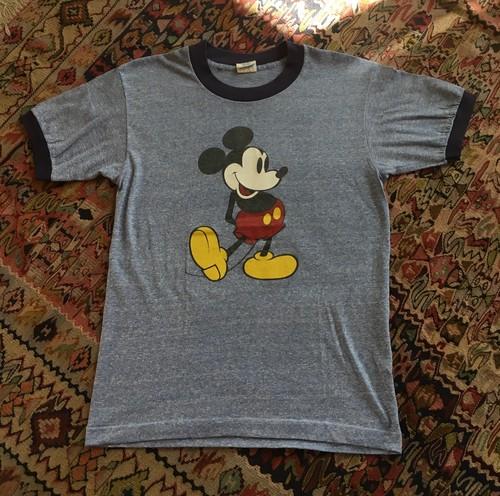 Micky Tee shirt オフィシャル物 MADE IN USA