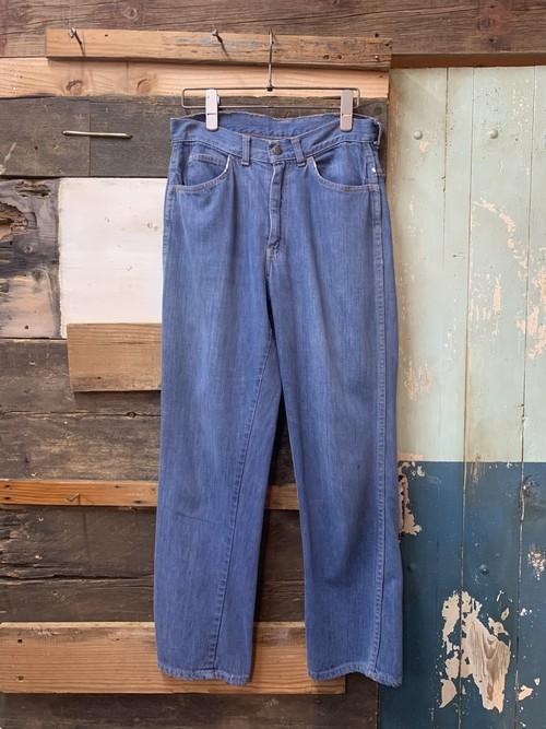 60's Levi's for gals denim pants big E W28 L27