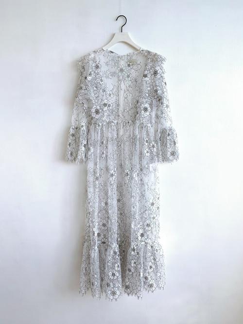 EAUSEENON  Lace Dress