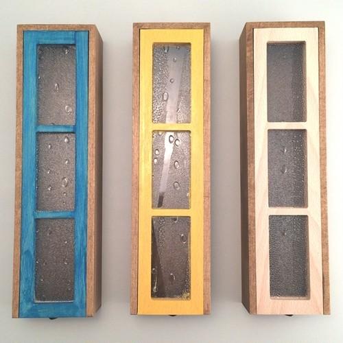 デザイン雑貨 Rain Window Pencil Box